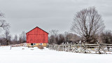 Red Barn Winterscape DSCN02358-60