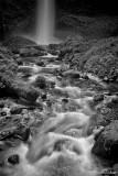 Latourell Falls (BW)