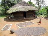 Benji hut in Tamaya. Ethiopia.