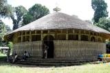 Azwa Mariam monastery on Zeghie Peninsula, Tana Lake. Ethiopia.