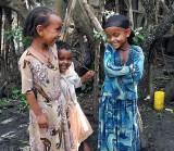 Amharic children. Ethiopia.