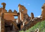 2014 pluies torrentielles ont causé des dégâts catastrophiques dans le sud. La plupart des maisons à Oumesnat sont détruites.