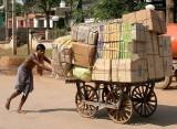 India tribal Orissa, Transport