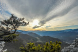 december sunset potomac highlands