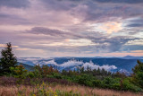 clearing storm on farview knob