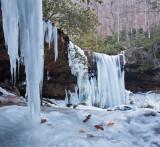 late winter at cucumber falls