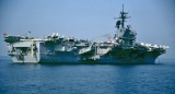 USS JOHN F KENNEDY CV67 STOKES BAY UK  21 JUNE 1983