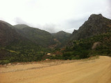 Dirt road to Nemrut Dagi