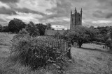 Graveyard and old church of Mary Tavy
