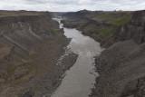 Downstream from Hafragilsfoss