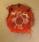 Owl 6-23-14 11.5x13 Sold