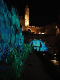 Tower of David at Night