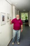 Jürgen showing his art in 2002