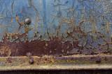 Rusty train car