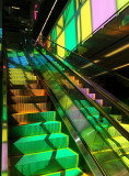 convention center escalator