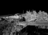 BNSF Black And White