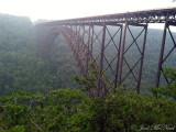Bridge over New River Gorge; Fayette Co., WV