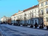 Frosty Morning at Krakowskie Przedmieście