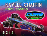 Kaylee Chaffin Jr. Dragster 2013