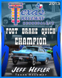 Texas Raceway 2013 Banquet Award Sample