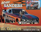 Mark Sanders Mr. Explosive Nostalgia Funny Car