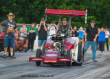 2015 - Outlaw Fuel Altered Assoc. - Thunder Valley Raceway - Noble, OK