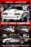 Jared Johnston X275 RTRA Champion 2015