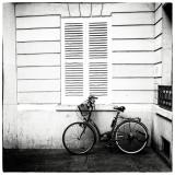 vélo et volets clos