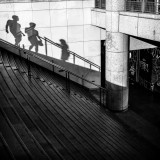 ombres en marches