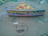 Bonsor Rec skateboard park Graffiti