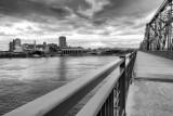 Hull (Québec), vue du pont Interprovincial / Hull (Québec), seen from the Interprovincial Bridge