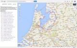 Zuiderzeepad Google Maps/Earth