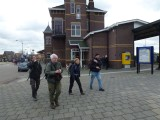 Zuiderzeepad Wandeling Kampen NS - Blokzijl dd 16/17 februari 2014