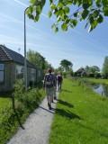 Zuiderzeepad Wandeling Oosterzee - Stavoren dd 16/17/18 mei 2014