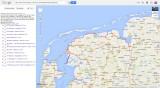 Nederlands Kustpad deel 3  Google Maps/Earth