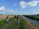 Kustpad Wandeling Nieuw Westerhuis - Lauwersoog Paviljoen Meerzicht dd 27/28 september 2014