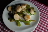 Scallops and Peppers - 10