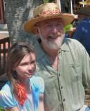 Grandpaw and Granddaughter