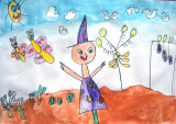 scarecrow, Helen, age:4.5