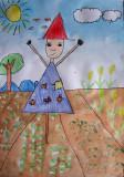 scarecrow, Nancy Zeng, age:5.5