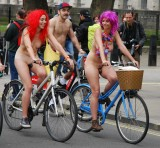 WNBR London World Naked Bike Ride 2015
