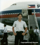 The good ole days! Philippine Airlines Boeing 747-200