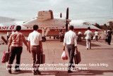 de Havilland Canada DHC-8-102 Dash 8 demonstration flight for PAL - Mindanao
