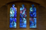 Marc Chagall glass in Tudley Church Kent
