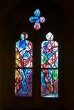 Marc Chagall glass at Tudley church Kent