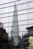 London The Shard reflections