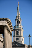 St Martins-in-the-Fields spire London