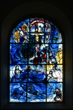 Marc Chagall glass at All Saint's Church Tudely Kent