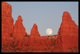 Moon and Spires