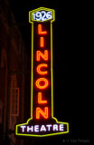Neon Sign for 1926 Theater